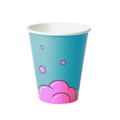 12oz Disposable Bubble Design Cold Drink Cup x 1000 Case