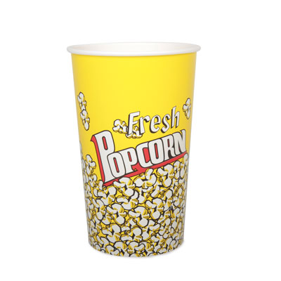 64oz Disposable Popcorn Tub x 45 Pack