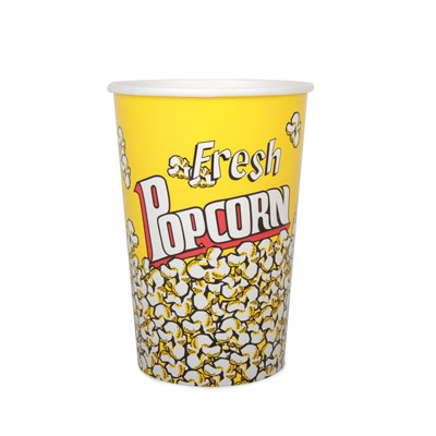 46oz Disposable Popcorn Tub x 44 Pack