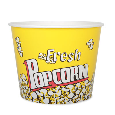 85oz Disposable Popcorn Tub x 42 Pack