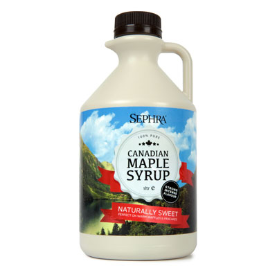 Sephra Canadian Maple Syrup 1ltr