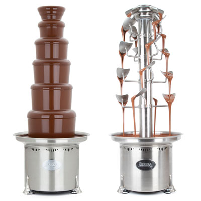 Sephra CF44R Two in One Cascade Chocolate Fountain