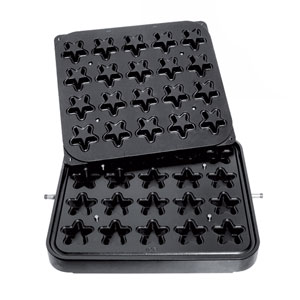 Cook-Matic Plates - Star Shaped