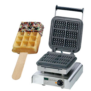 Sephra Square Waffle On A Stick Maker
