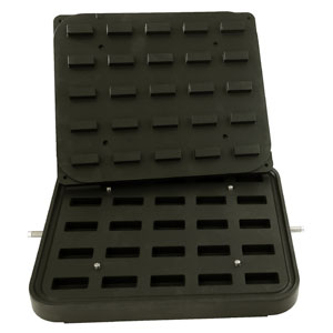 Cook-Matic Plates - Small Brick (Vertical Sides)