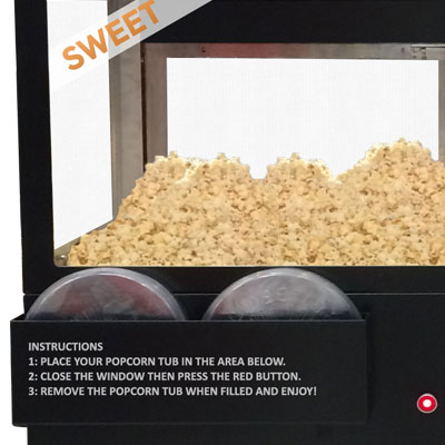 Sephra Self Serve Popcorn Machine