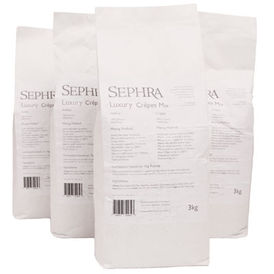 Sephra Luxury Crepe Mix - 12Kg (4x3Kg Bags)