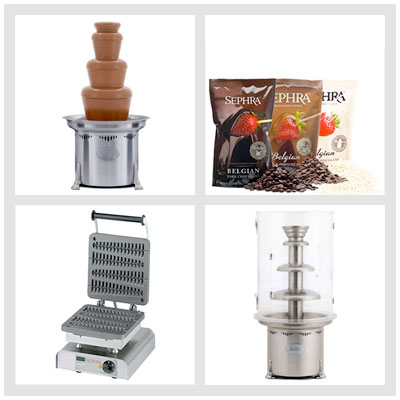 Chocolate Fountain Warehouse Commercial Packages