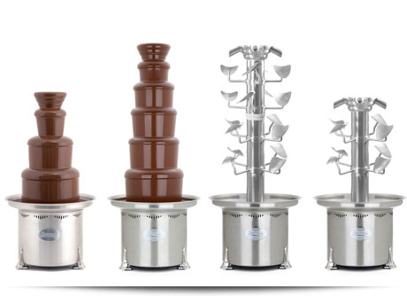 Commercial Chocolate Fountains & Accessories