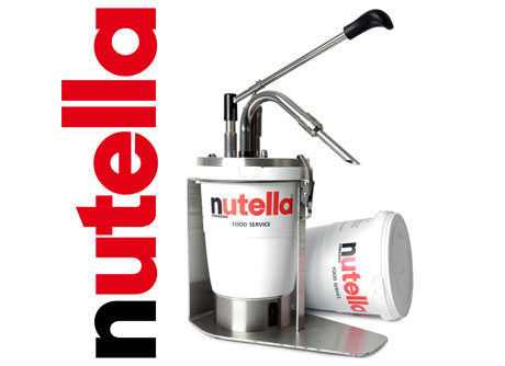 Nutella Chocolate & Dispensers