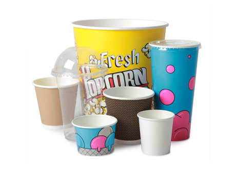 Disposable Cups & Tubs