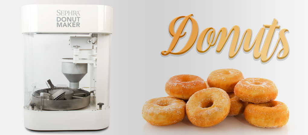Sephra Rotary Donut Maker... 280 Donuts Per Hour